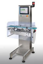 Packaging checkweigher / for the pharmaceutical industry / compact