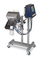 Metal detector for the pharmaceutical industry
