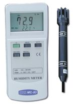 Temperature meter / relative humidity / thermistor / portable