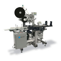 Automatic labeler / high-speed / in-line / top