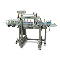 Automatic labeler / high-speed / continuous-motion / linear
