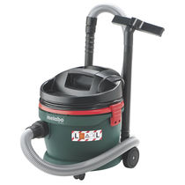 Wet and dry vacuum cleaner / single-phase / for power tools / industrial