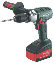 Electrical drill / manually-controlled / impact / cordless