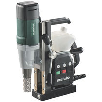 Electrical drill / manually-controlled / magnetic base