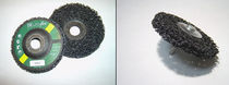 Nylon abrasive disc / for cleaning / for deburring / polishing