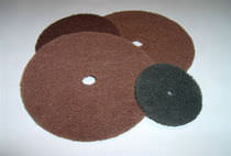 Ceramic abrasive disc / polishing / for stone / non-woven