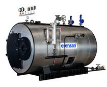 Steam boiler / gas / high-pressure / horizontal