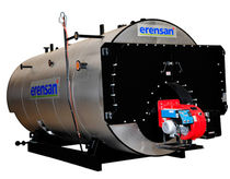 Steam boiler / fuel oil / fire tube / high-pressure