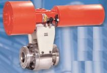 Ball valve / metal / expansion / solids