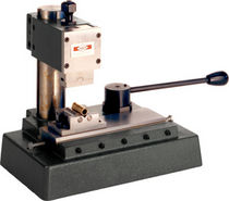 Roll marking machine / benchtop / three-axis / manual