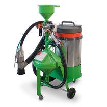 Mobile sandblasting machine / pressure / manual