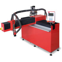 Stationary sandblasting machine / suction / automatic