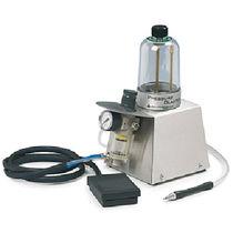 Stationary mini blasting machine / pressure / manual