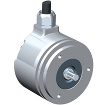 Incremental rotary encoder / hollow-shaft