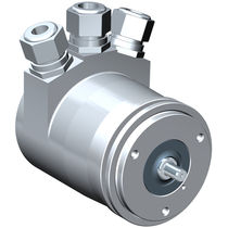 Absolute rotary encoder / hollow-shaft / with Fieldbus interface