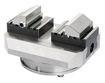 Machine tool vise / mechanical / modular / self-centering