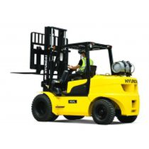 LPG forklift / ride-on / counterbalanced / handling