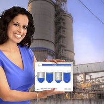 Level monitoring system / for storage tanks / for silos / Ethernet