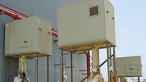 Rectangular enclosure / in plastic / for petrochemical and refinery installations / fire-resistant