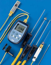 Digital thermometer / thermocouple / portable / dual-channel