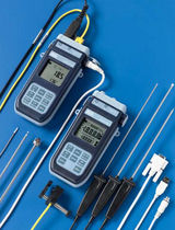 Pt1000 thermometer / digital / portable / with temperature probe