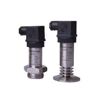 Flush diaphragm pressure transmitter / IP67 / IP65 / for liquids and gases