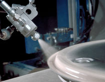 Spray gun / for paint / automatic / airless