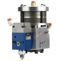 Controlled-pressure gun / dispensing / for adhesives / compact