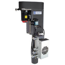 High-viscosity media dosing dispenser / single-component