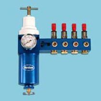 Compressed air filter-regulator / for pumps