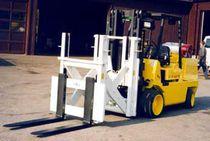 Telescopic fork extension / for forklift trucks / for pallet handling