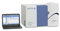 Solids analyzer / for particle size analysis / portable / laser