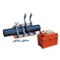 Butt welder / semi-automatic / for hydraulic applications