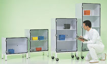 Hinged door cabinet / mobile / metal