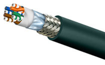 Ethernet cable / flameproof / flexible