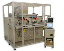 CO2 laser marking machine / three-axis / with rotary table