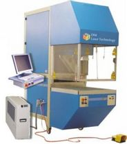 CNC cutting machine / textile / CO2 laser / engraving