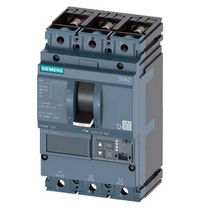 Tetrapolar circuit breaker / tripolar / low-voltage / molded case