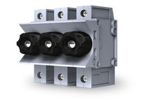 DIN rail mounted fuse holder / modular