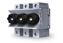 DIN rail fuse holder / modular