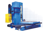 CNC boring mill / horizontal / 3-axis / T column