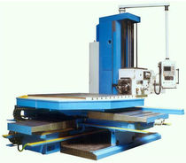 CNC boring mill / 4-axis / horizontal / with rotating table