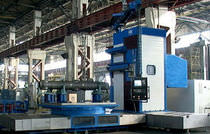CNC boring mill / 3-axis / horizontal / column type