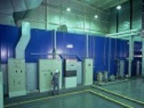Single-flow air handling unit / floor-mounted