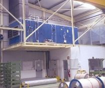 Single-flow air handling unit / horizontal