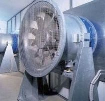 Axial fan / ventilation / direct-drive / industrial