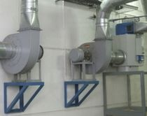 Centrifugal fan / ventilation / direct-drive / industrial