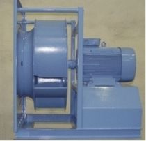 Centrifugal fan / ventilation / open-blade / industrial