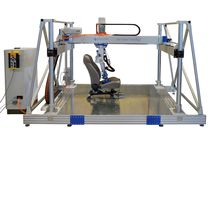 Alternative bending test bench / for seats / for backrest