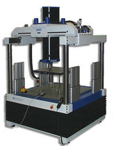 Compression testing machine / bending / for flooring elements / electromechanical
